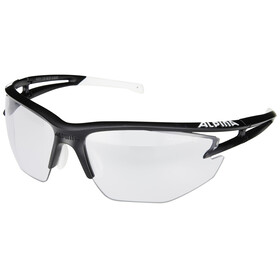 Alpina Eye-5 HR VL+ black matt-white/black